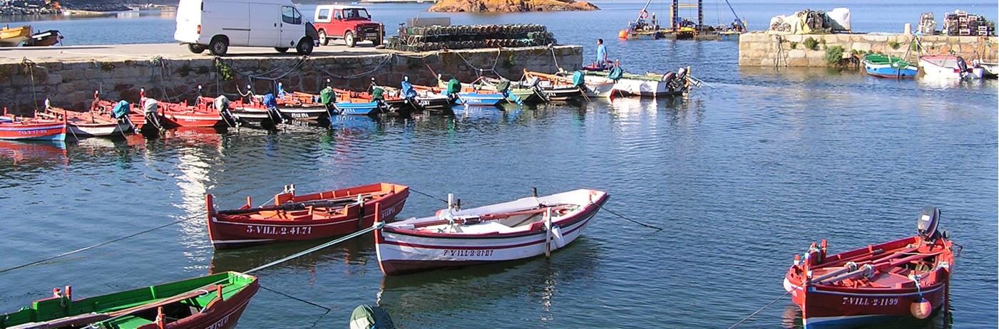 El Muelle, embarcaciones tradicionales