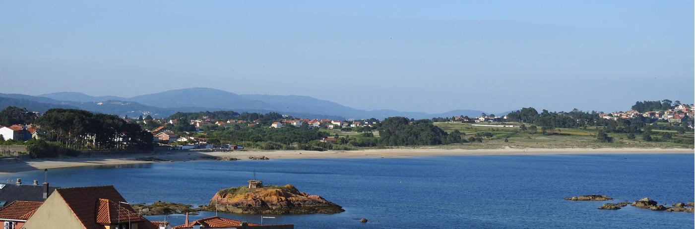 Las playas más tranquilas en <strong>Arousa Norte</strong>